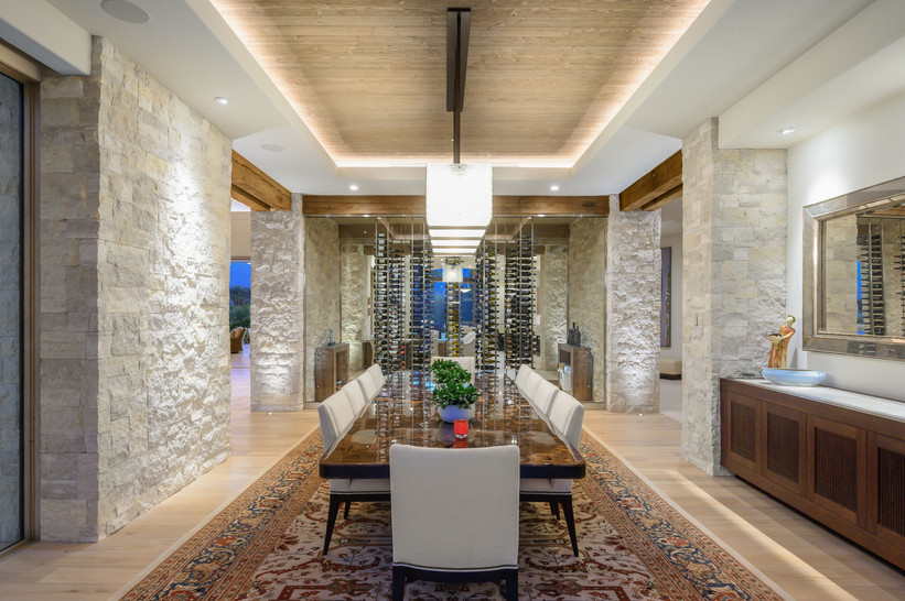 Dining Room and Wine Room