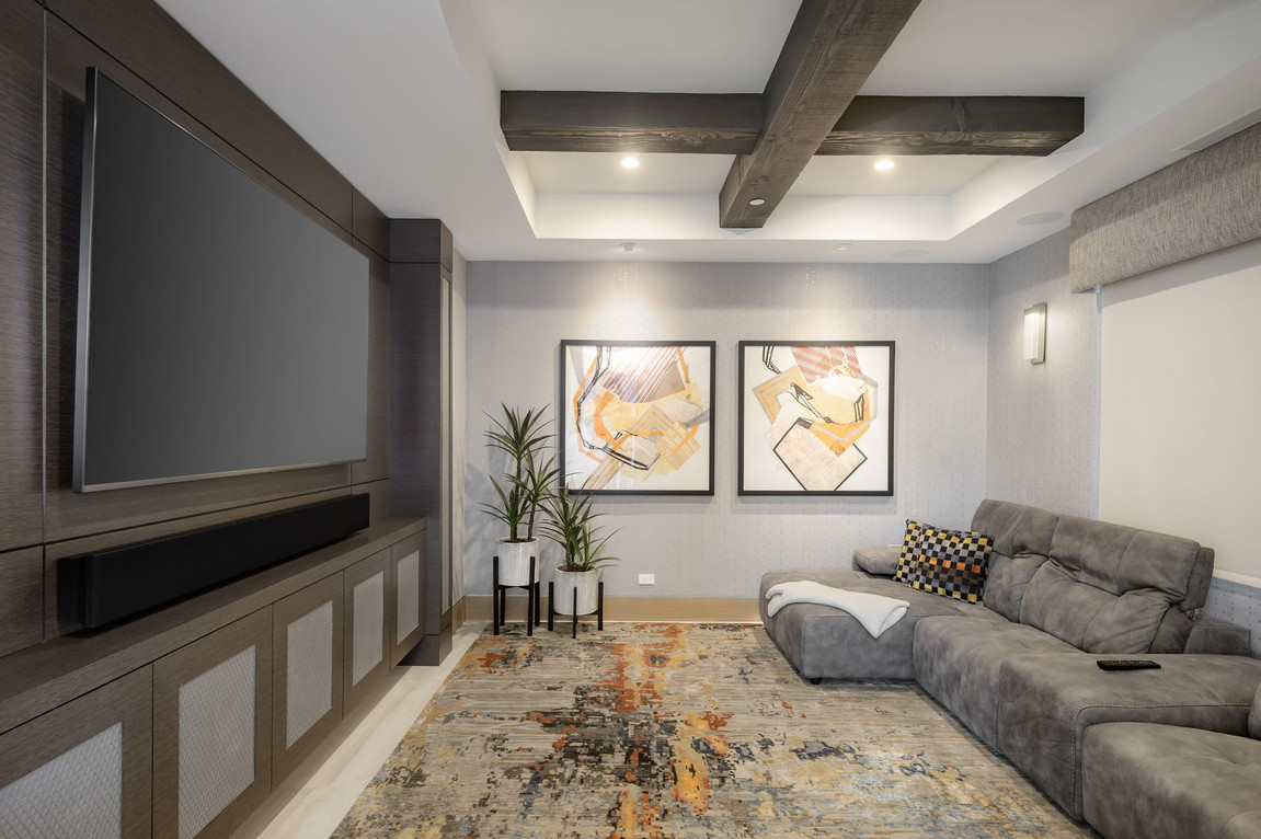Media Room Hideaway 3D