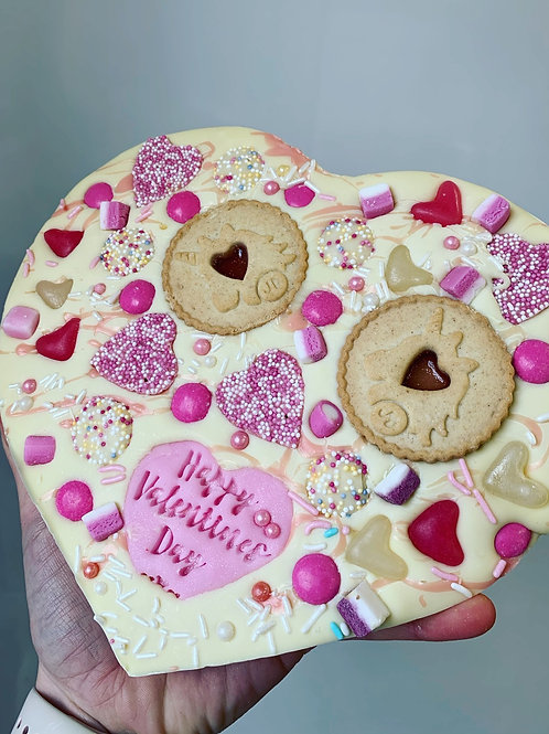 Valentine's ❤️ Nana pudding chocolate 🍫 slab