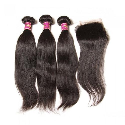 "Indian Straight Hair 12"""
