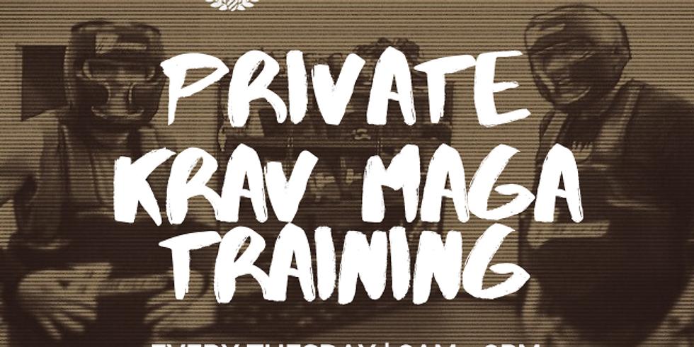 7AM-8PM | TUE | PRIVATE KRAV MAGA SESSIONS