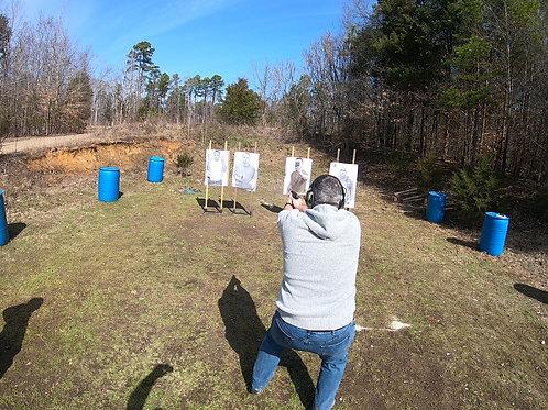 Handgun/Pistol Class Pass