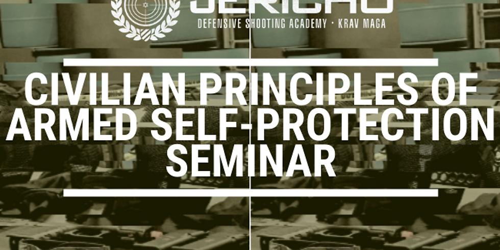 SUN | CIVILIAN PRINCIPLES OF ARMED SELF-PROTECTION SEMINAR