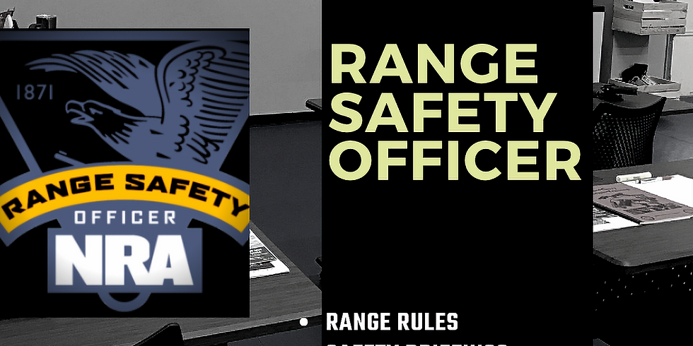 FRI   Range Safety Officer Certification