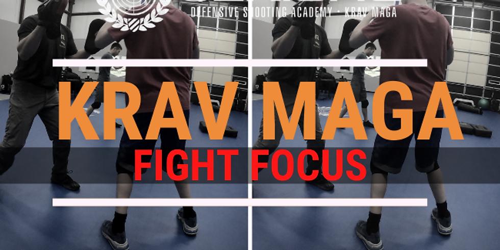 10:00AM | SAT | KRAV MAGA - FIGHT FOCUS