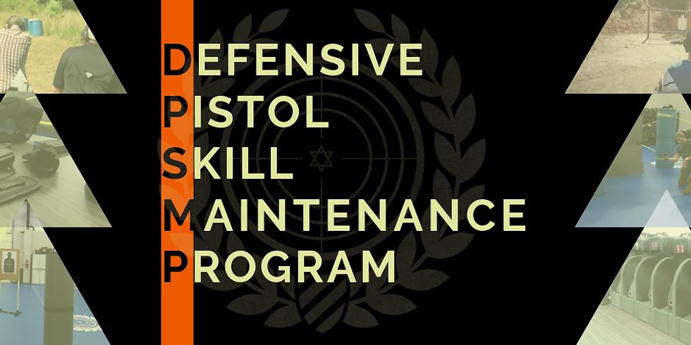 Defensive Pistol Skill Maintenance Program (DPSMP)