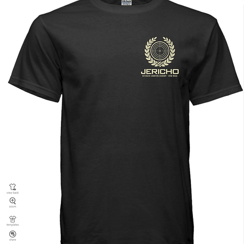 Jericho Dry-Fit Moisture Wicking Active Athletic Performance Crew T-Shirt