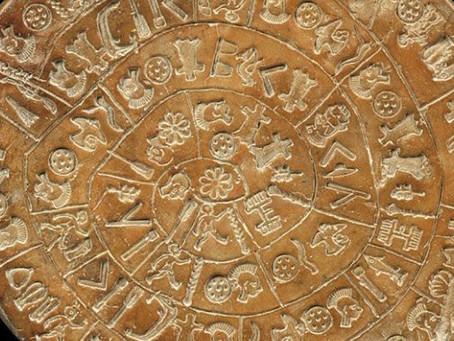 Der Diskos von Phaistos: eine Hymne an die Göttin Aphaia?