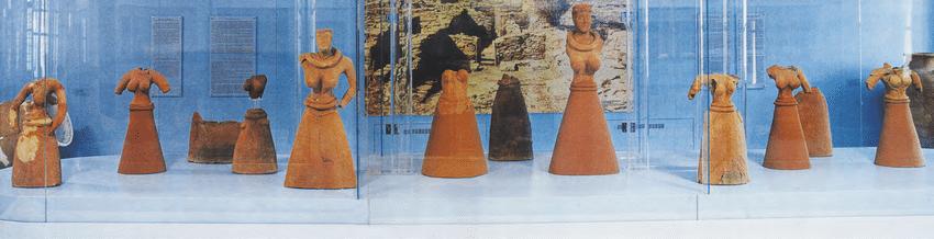 Die Frauen Figurinen der griechischen Insel Kea