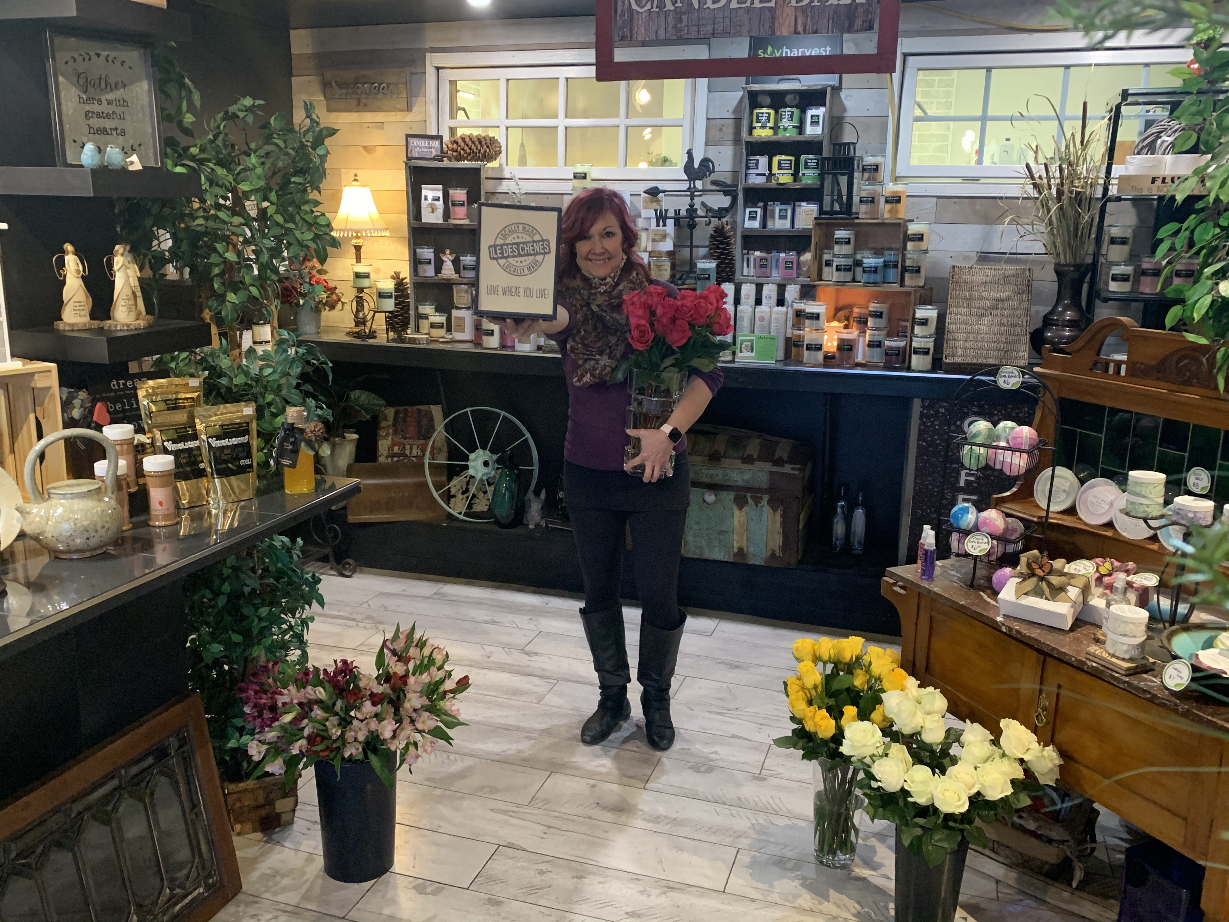 Brenda in the Boutique!