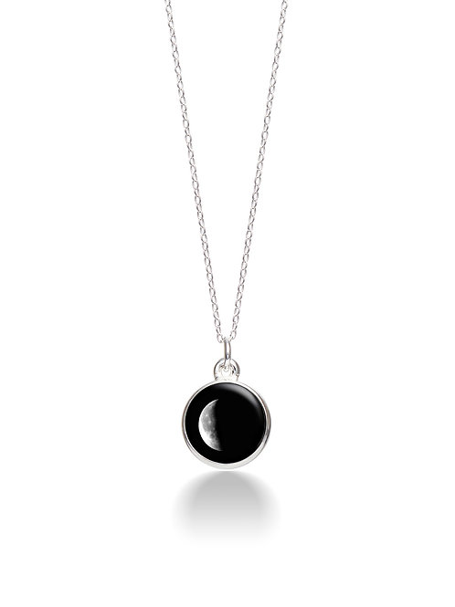 Charmed Simplicity Necklace 2D - Waning Crescent
