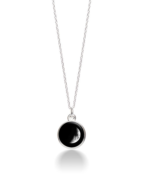 Charmed Simplicity Necklace 2A - Waxing Crescent