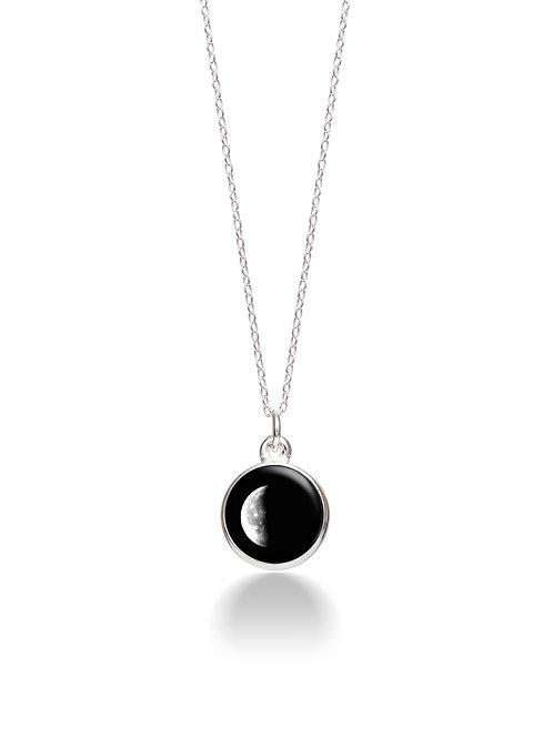 Charmed Simplicity Necklace 3D - Waning Crescent