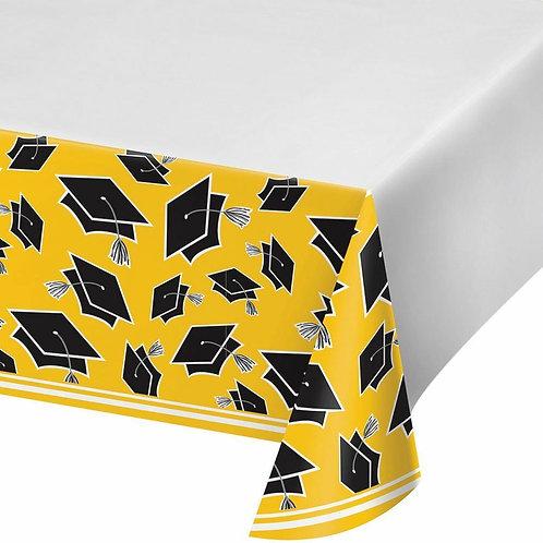 School Bus Yellow School Spirit Table Cover