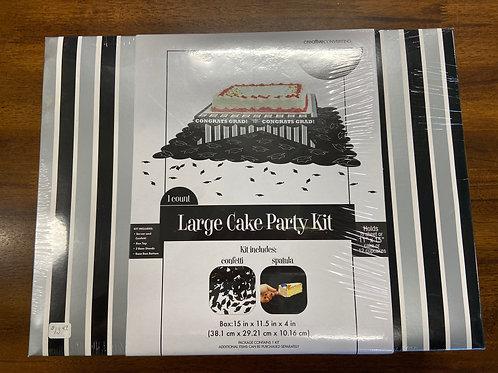 Congrats Grad Large Cake Party Kit