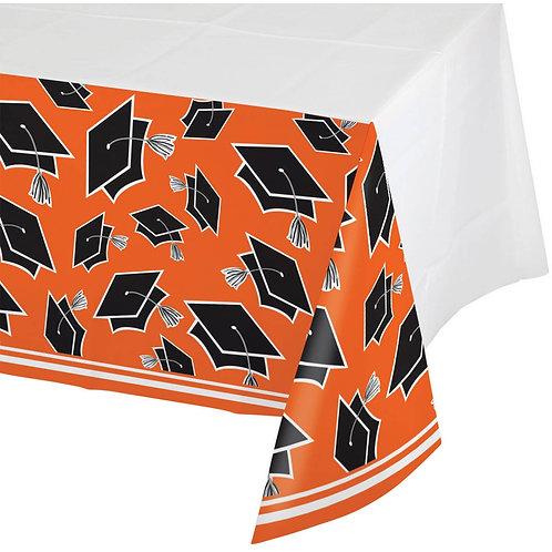 Orange School Spirit Table Cover