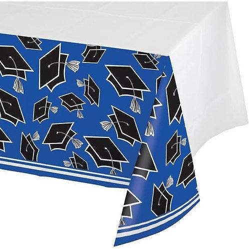 Cobalt Blue School Spirit Table Cover
