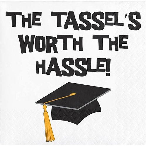 Tassle's Worth the Hassle Beverage Napkins
