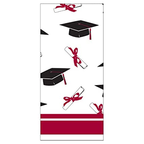 Burgundy School Colors Table Cover