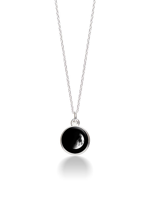 Charmed Simplicity Necklace 3A - Waxing Crescent