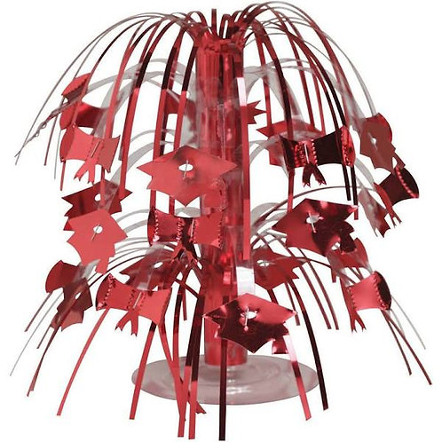 Red Grad Mini Cascade Centerpiece