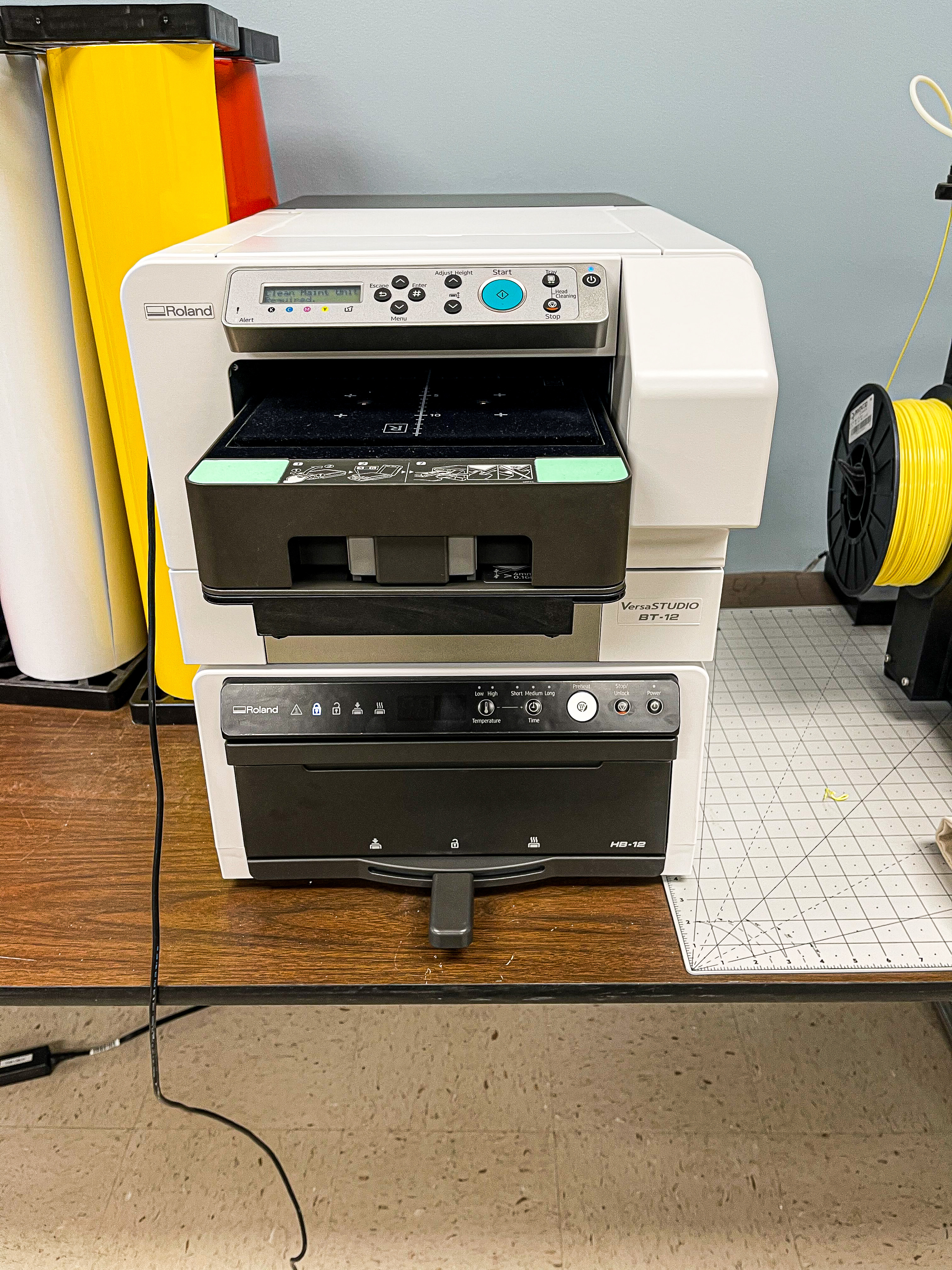 Rolland Direct to Garment Printer