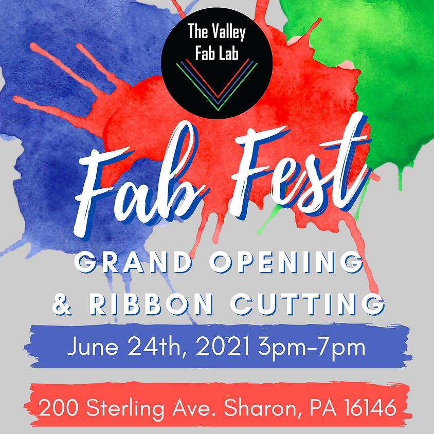 Fab Fest Grand Opening & Ribbon Cutting