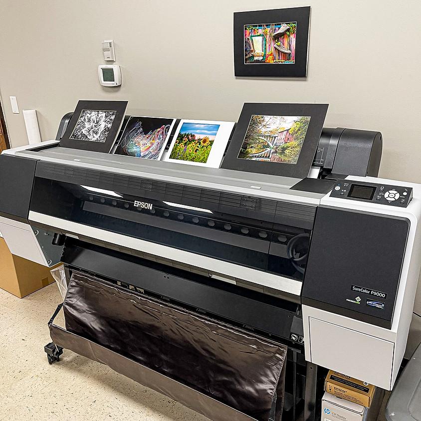 Epson Large Format Printer