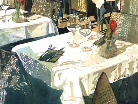 """Angela Lacy's """"Waiting for Feast"""" Shown at Art League Gallery in Torpedo Factory Art Center"""
