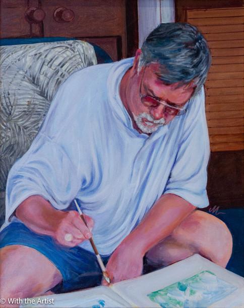Bill Paints Key West