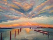 46-Pat-Choquette-Sunset-at-Tilghman-Isla