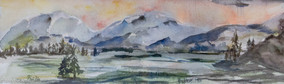 Quiet Mountains 2018 (Sold)
