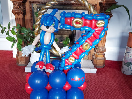 Truly bespoke balloons!