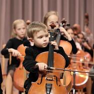 Suzuki čellu koncerts Lietuvā 2020. gadā.