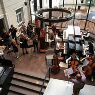 Suzuki dzimšanas dienas klavieru grupu meistarklase 2017. gada oktobrī Viļņā.