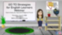 Flyer - NVTESOL GO TO Strategies Webinar