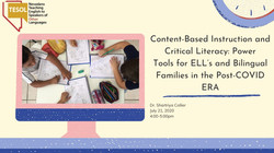 Content based literacy