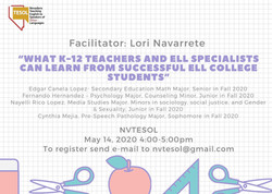 Successful ELL College students