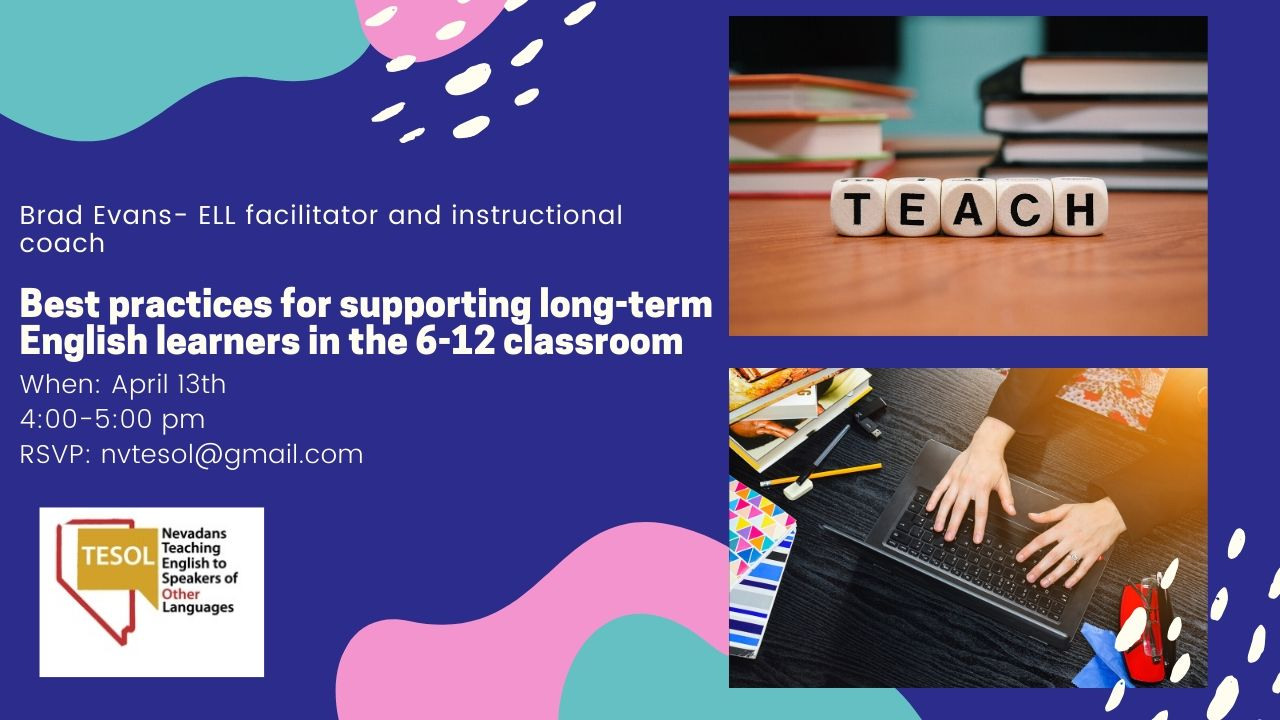 Supporting long term ELLs