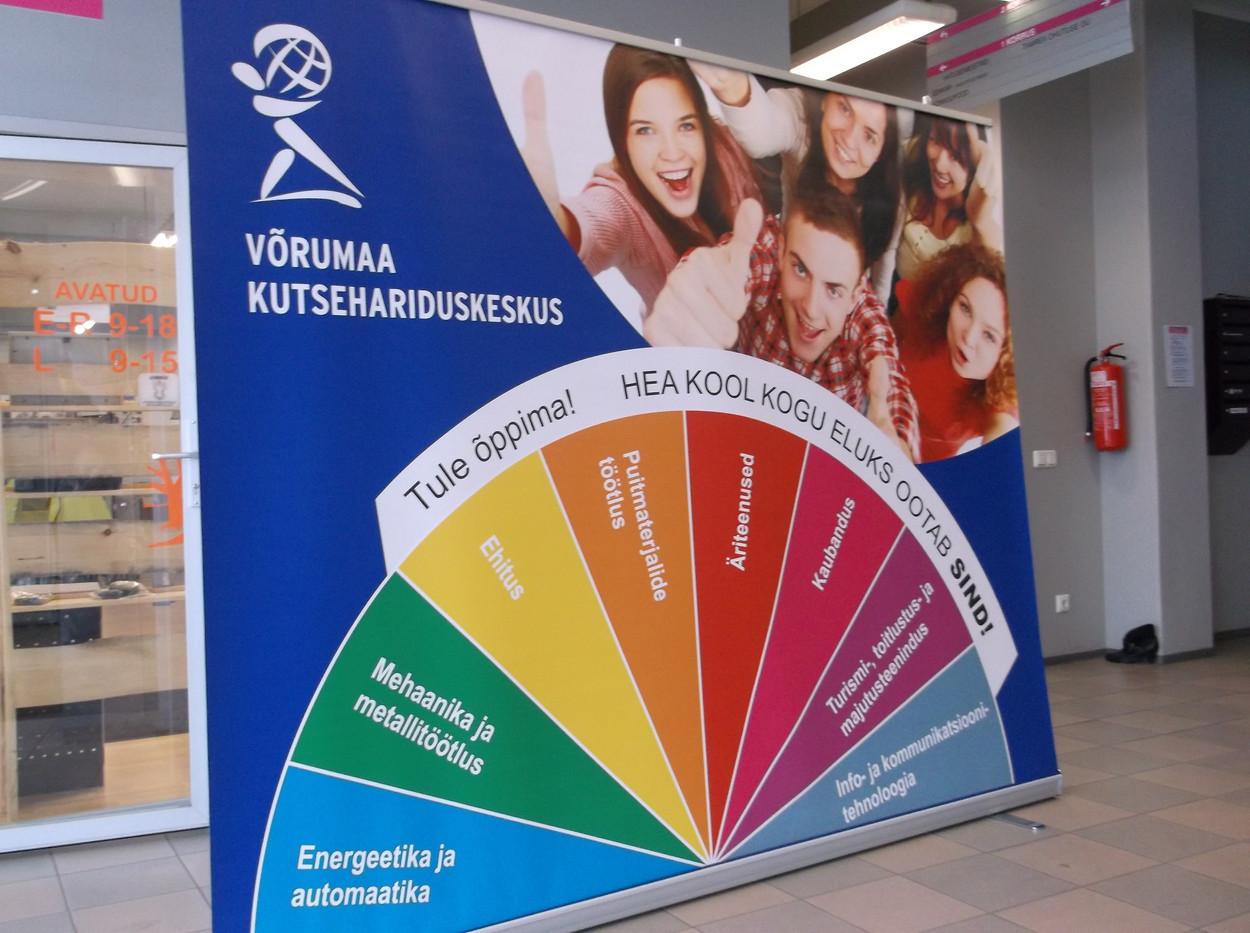 Võrumaa Kutsehariduskeskuse roll-up
