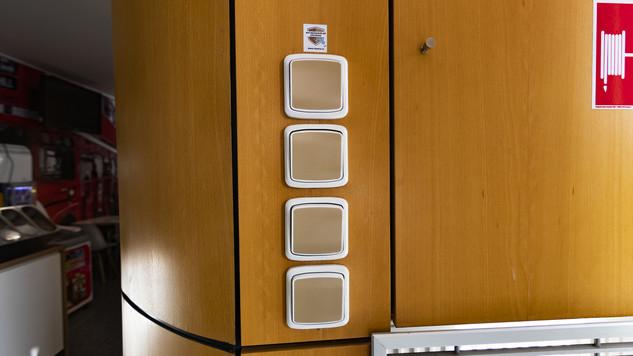 Antimikrobiální měděná fólie K Copper Plus - sada vypínačů