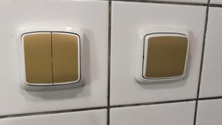 Antimikrobiální měděná fólie K Copper Plus - vypínače