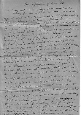Alice's prison notes Holloway 1907 - 1.j