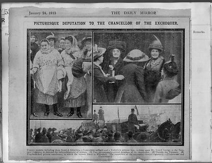 London to see cabinet minister 1913 - 2.