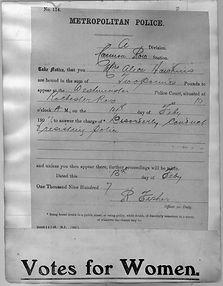 Bail warrant Cannon Row 1907.jpg