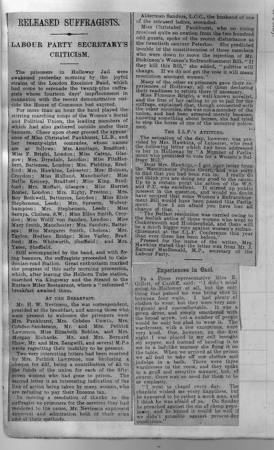 Newspaper - released suffragists.jpg