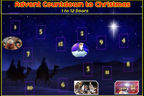 ADVENT CALENDAR 'Online' Puppets CountdownToChristmas
