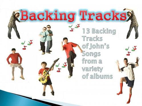 13 Backing Tracks