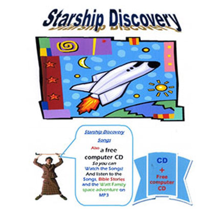 Starship Discovery CD
