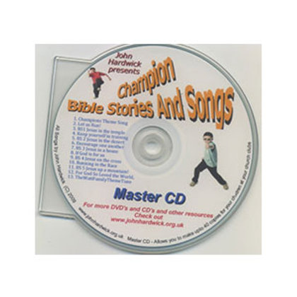 Champion Bible Stories & Songs CD